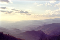 Autumn view of Blue Ridge Mts