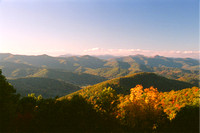 Autumn view in the Blue Ridge